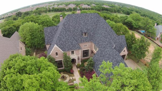 Lantana home for sale arial view